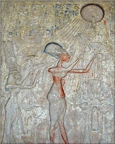 Akhenaten Nefertiti Atem
