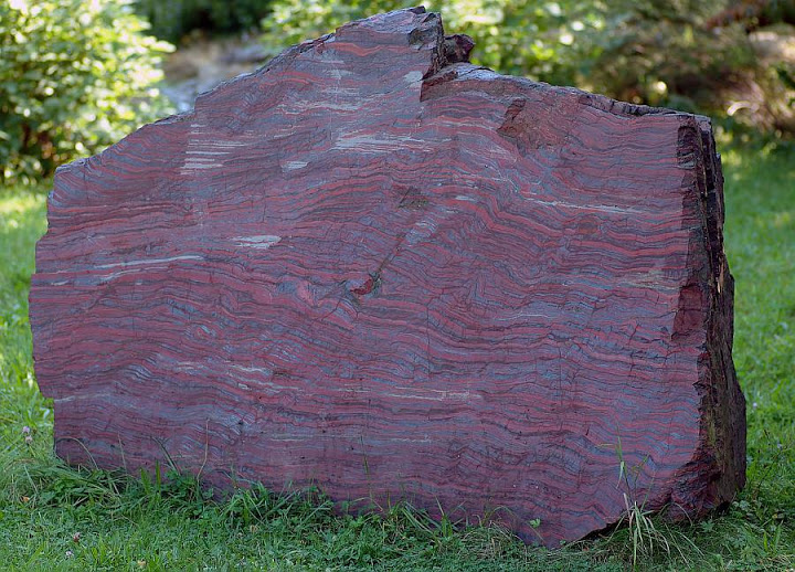 Banded Iron Formation quarz sand
