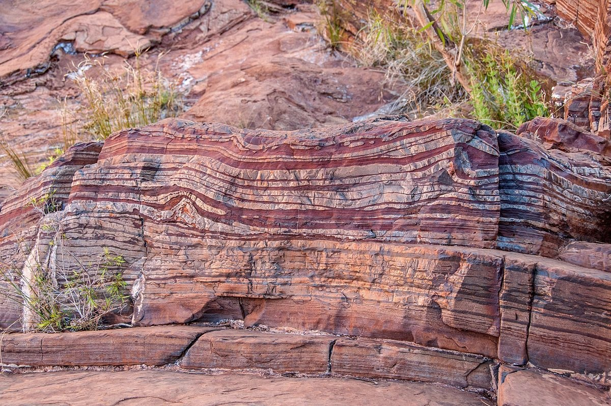 Banded Iron Formation BIFs chert iron sand