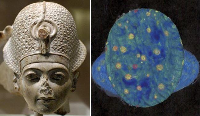 Tutankhamun blue crwon