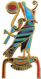 Golden horus symbol