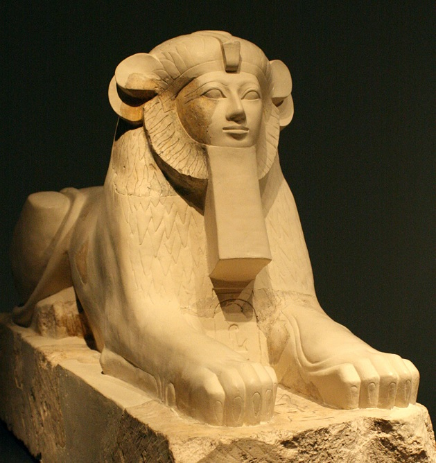 Hatshepsut with lions mane