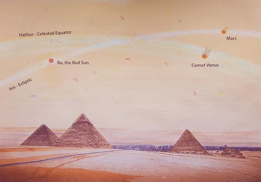Isis Hathor Mars Comet Venus