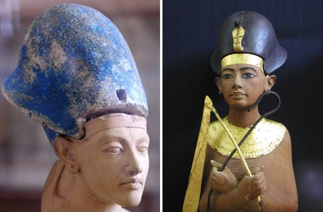 Divine Egyptian crowns