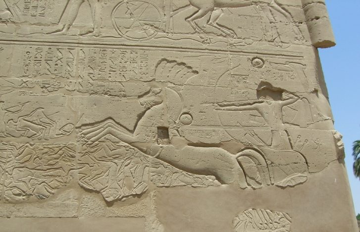 Pharaoh Seti I Chariot battles