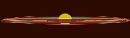 Solar system spining top 2