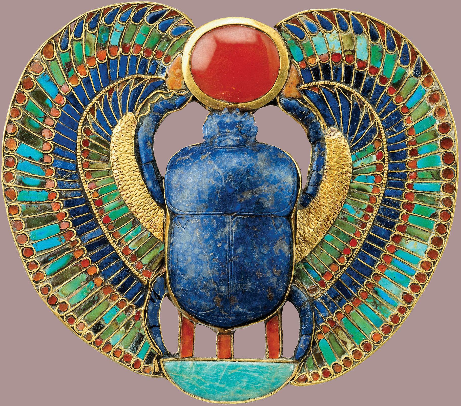 Tutankhamun's gold.