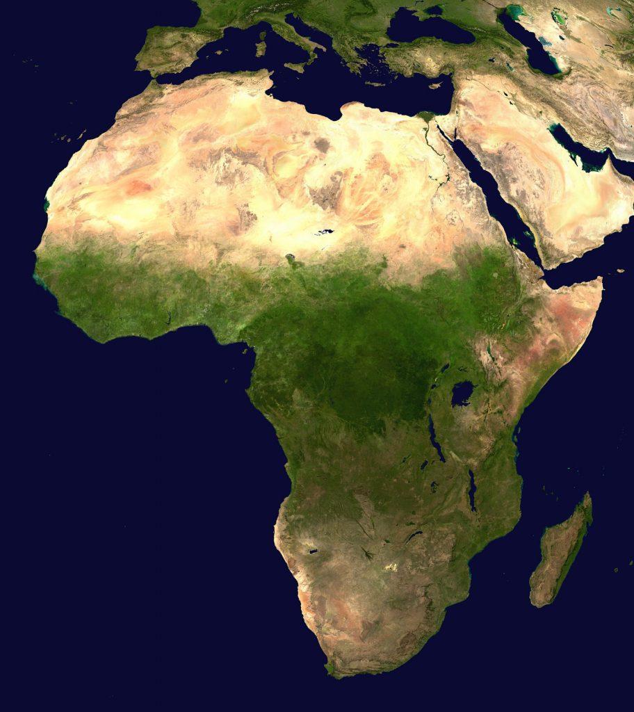 Sahara Desert Origin