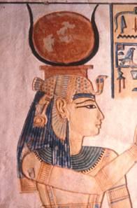 Hathor as a Goddess