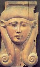 Goddess Hathor Wig bovine