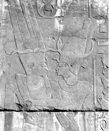Gods Embrace Amun