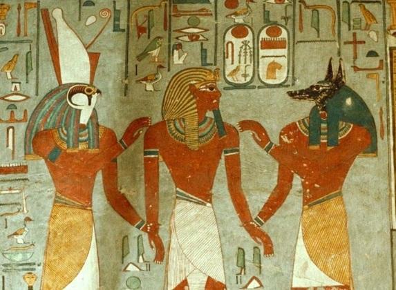 Harsiese Horus Anubis
