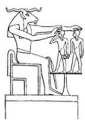Khnum Potters Wheel