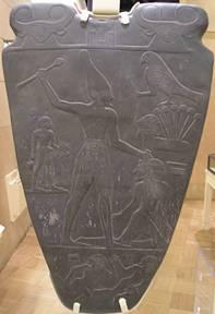 Narmer Palette Smiting