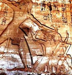 Pharaoh Smiting Enemies