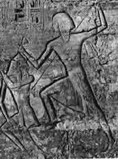 Pharaoh Smiting Enemy