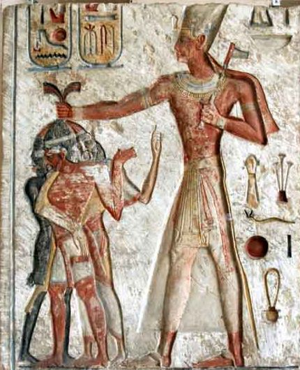 Ramesses Smiting Enemy