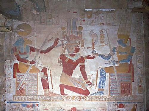Seti God Amun