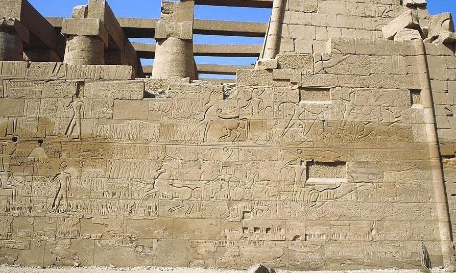 Seti Karnak Battles pharaoh
