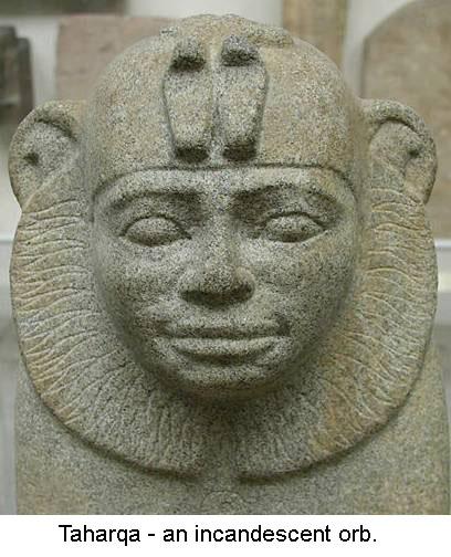 Taharqua Nubian Pharaoh