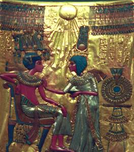 Tutankhamun Golden Throne