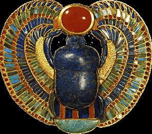 Tutankhamun Scarab Mars