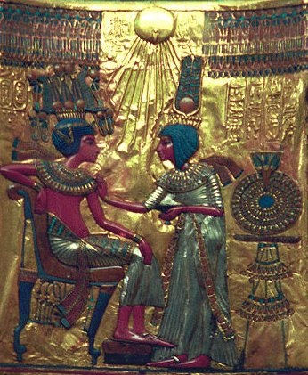 Tutankhamun's Golden Throne